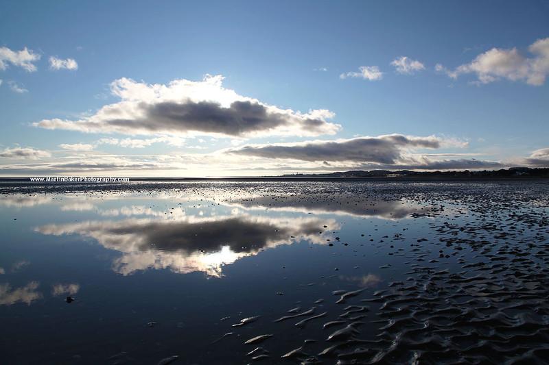Merrion Strand and Dún Laoghaire, Dublin Bay, Dublin, Ireland.