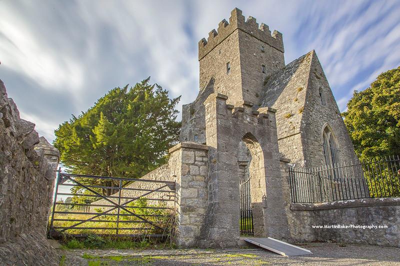 Saint Doulagh's Church, Balgriffin, Dublin, Ireland.