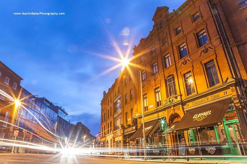 Nassau Street, Dublin, Ireland.