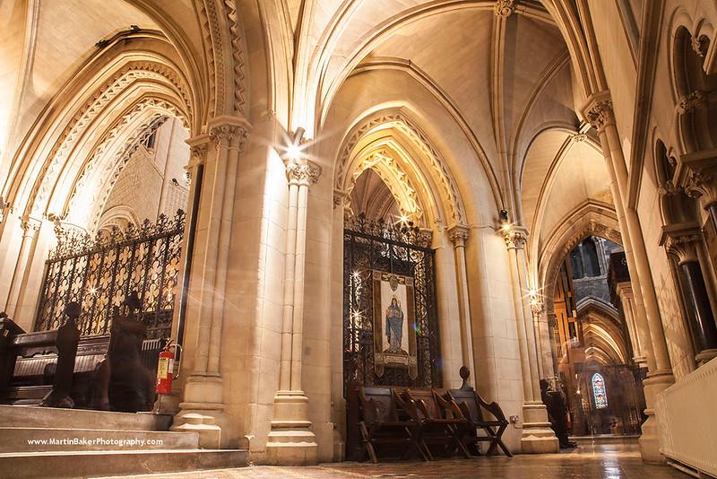 Christ Church Cathedral, Dublin, Ireland.