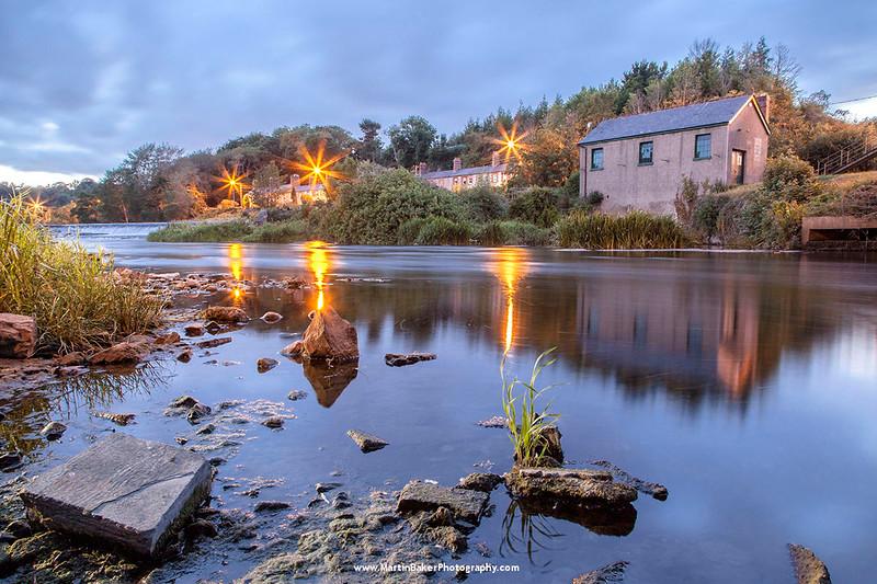 The River Liffey, Lucan, Dublin, Ireland.