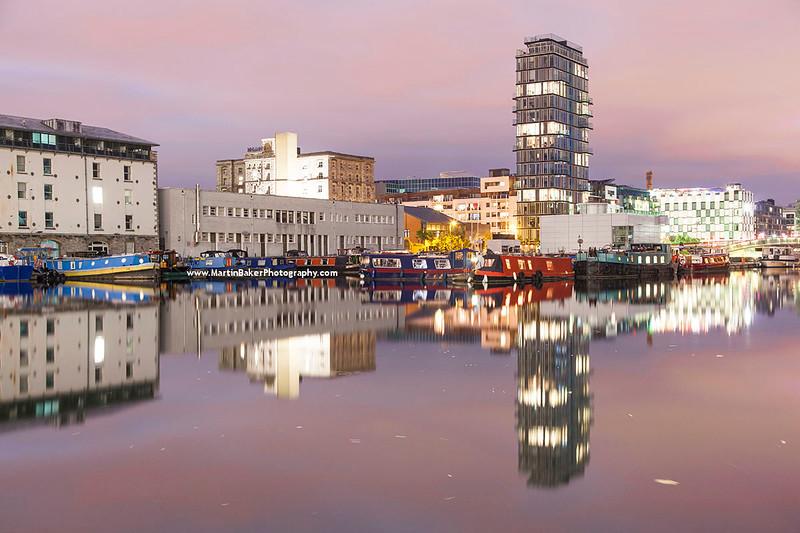 Inner Basin, Grand Canal Dock, Docklands, Dublin, Ireland.