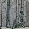 Famine Memorial in St. Stephen's Green