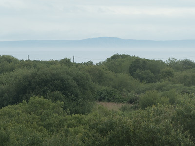 """I can see Scotland!"" from our Islandcor AirB&B in Dunseverick"
