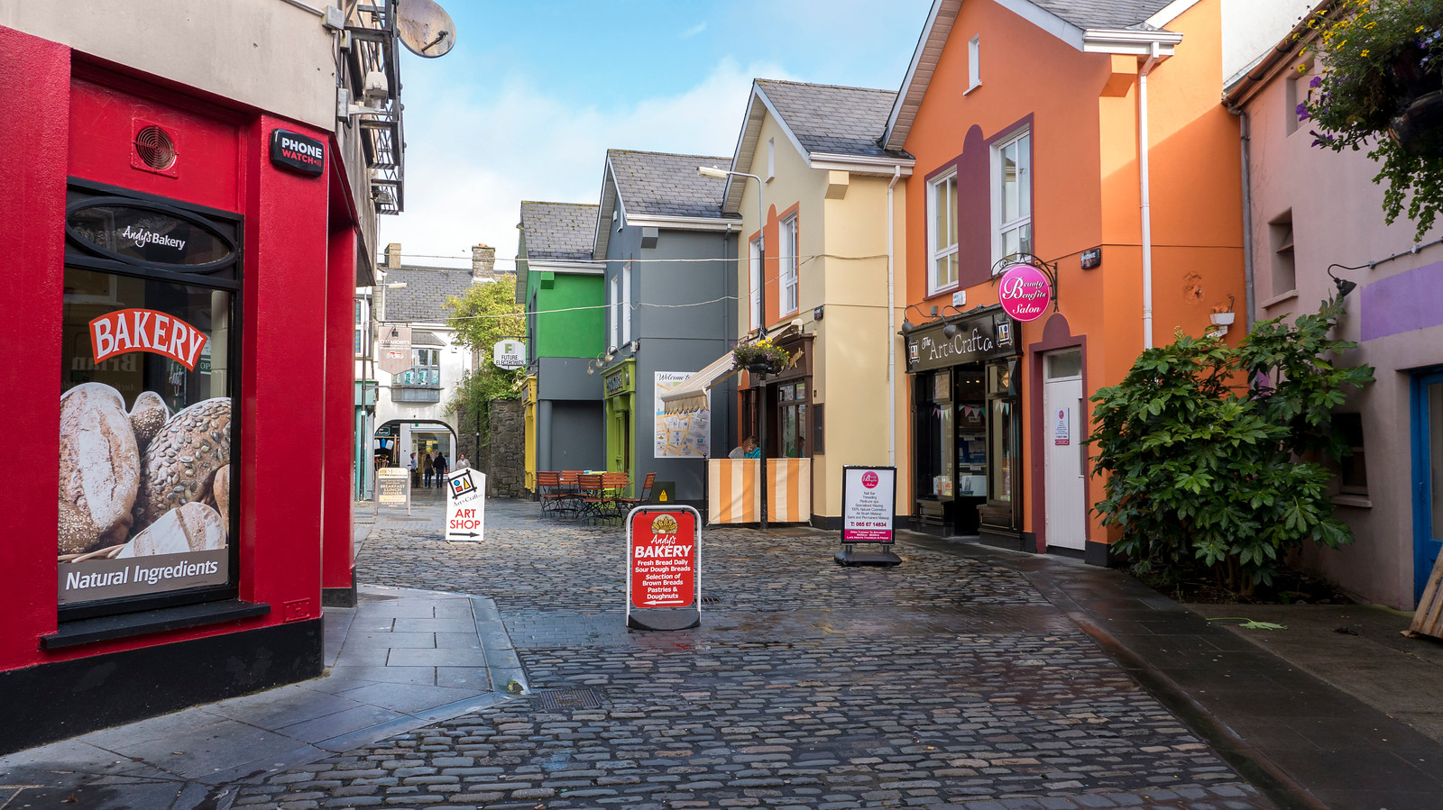 Ennis: A bright and colourful town