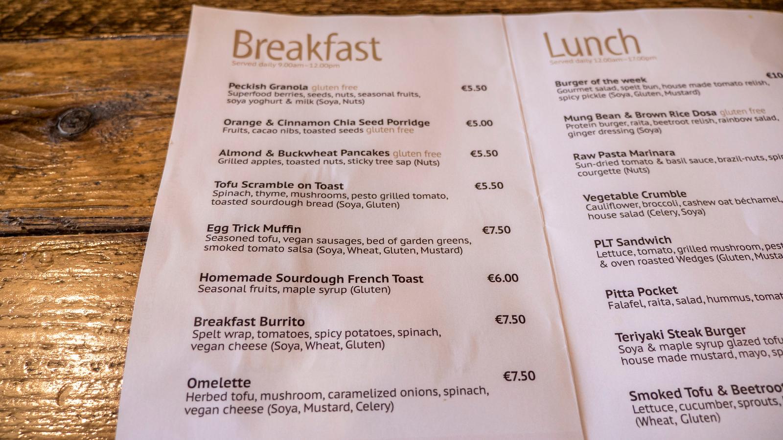 Peckish Vegan Cafe: Ennis Restaurant You Must Visit