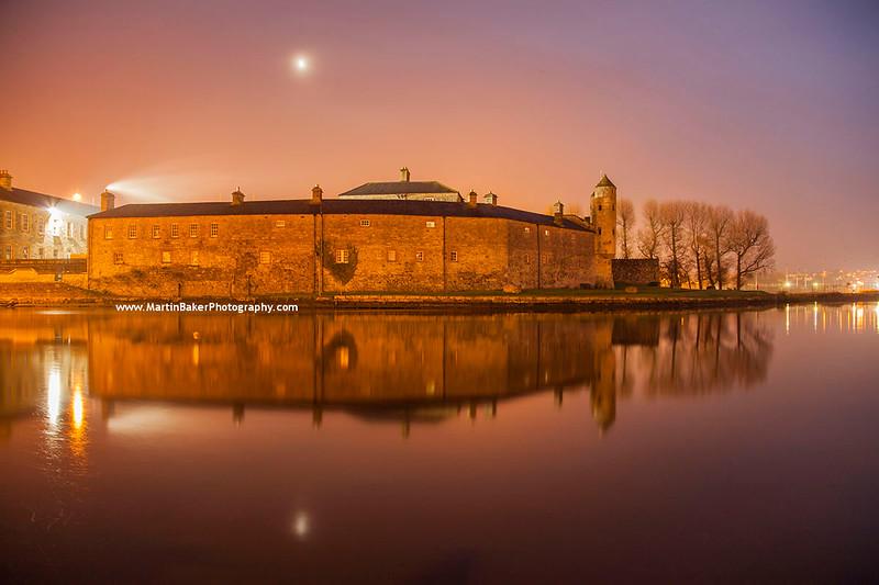 Enniskillen Castle and River Erne, Enniskillen, Fermanagh, Northern Ireland.