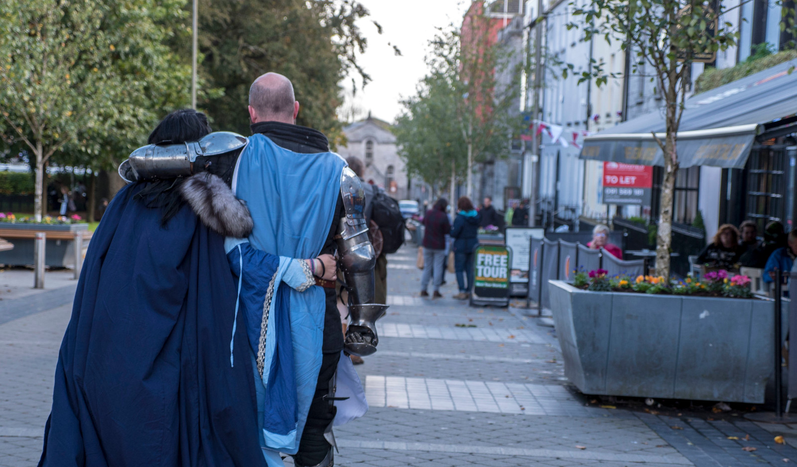 Knights in love in Galway - One day in Galway Itinerary