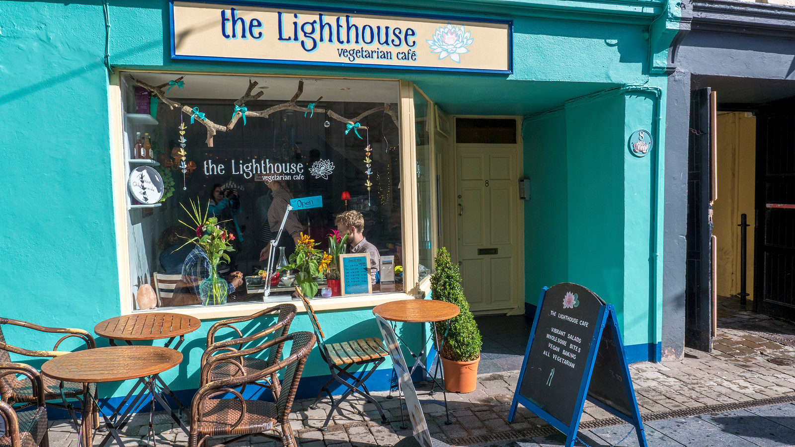 The Lighthouse Cafe, Galway, Ireland - Vegan Galway Restaurant and Dining Guide
