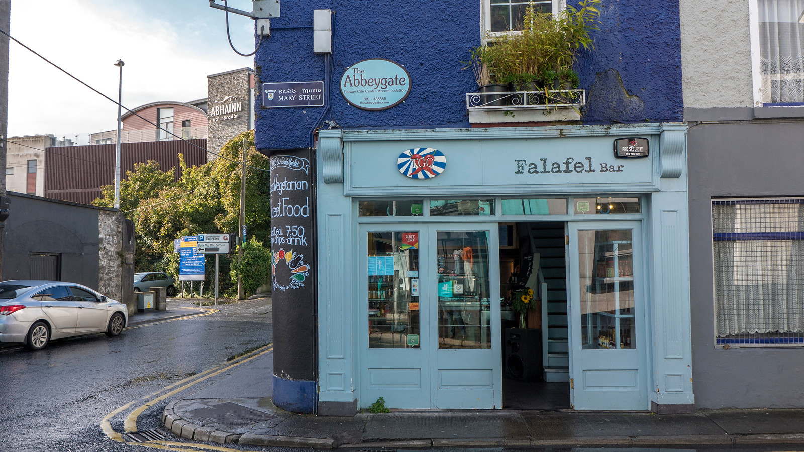 TGO Falafel Bar in Galway City - Vegan in Galway