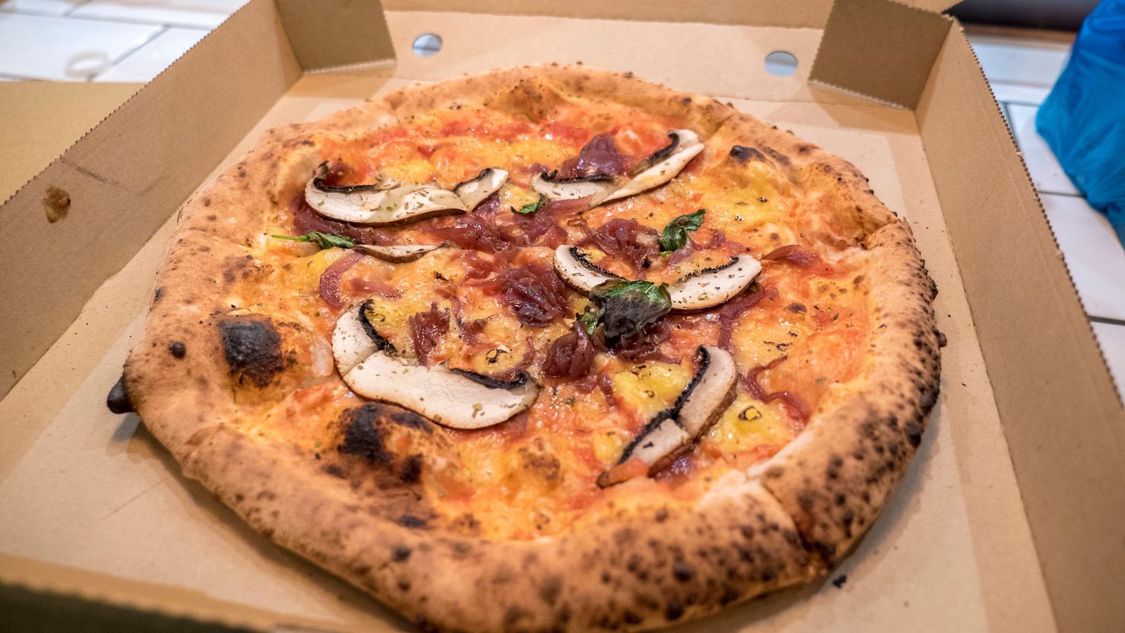 Buffalo Soldier vegan pizza from The Dough Bros - Vegan Galway Restaurant and Dining Guide
