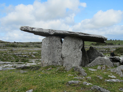 Poulnaborne Dolmen in the Burren