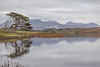 The Twelve Bens and Ballynakill Lough, Connemara, Galway, Ireland.