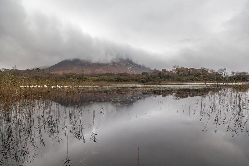 Loch Maladrolaun, Letterfrack, Connemara, Galway, Ireland.