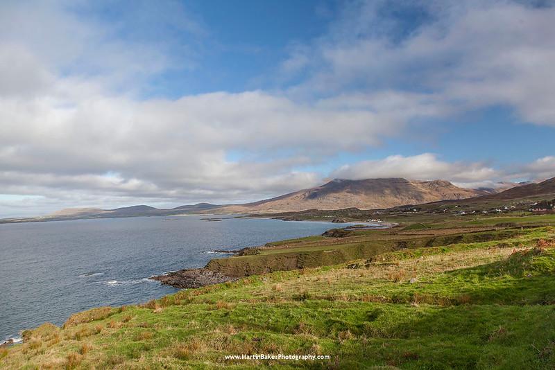 Tully, Connemara, Galway and Mweelrea, Mayo, Ireland.