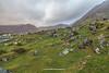 The Glencoaghan Horseshoe Valley, the Twelve Bens, Connemara, Galway, Ireland.
