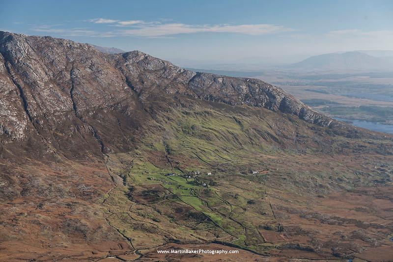 Derryclare, The Twelve Bens, Connemara, Galway, Ireland.