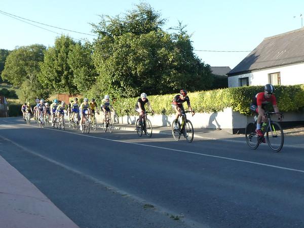 Bike race in Donoe. County Meath.