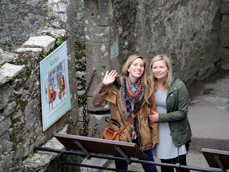 Visiting Blarney Castle
