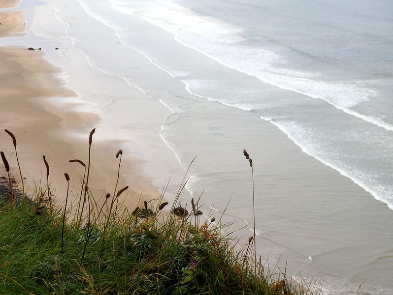 Coastal views from Mussenden Temple, Northern Ireland