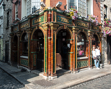 The Quays Bar in Temple Bar, Dublin.