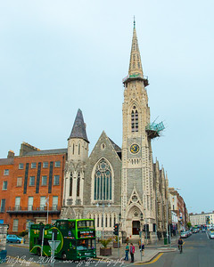 A church in Dublin.
