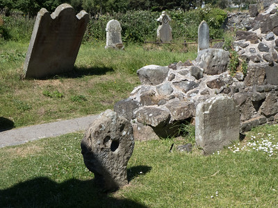 Black Nun's grave at Bonamargy Frairy, near Ballycastle, County Antrim