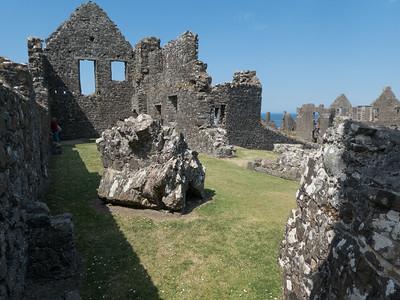 Dunluce Castle. County Antrim
