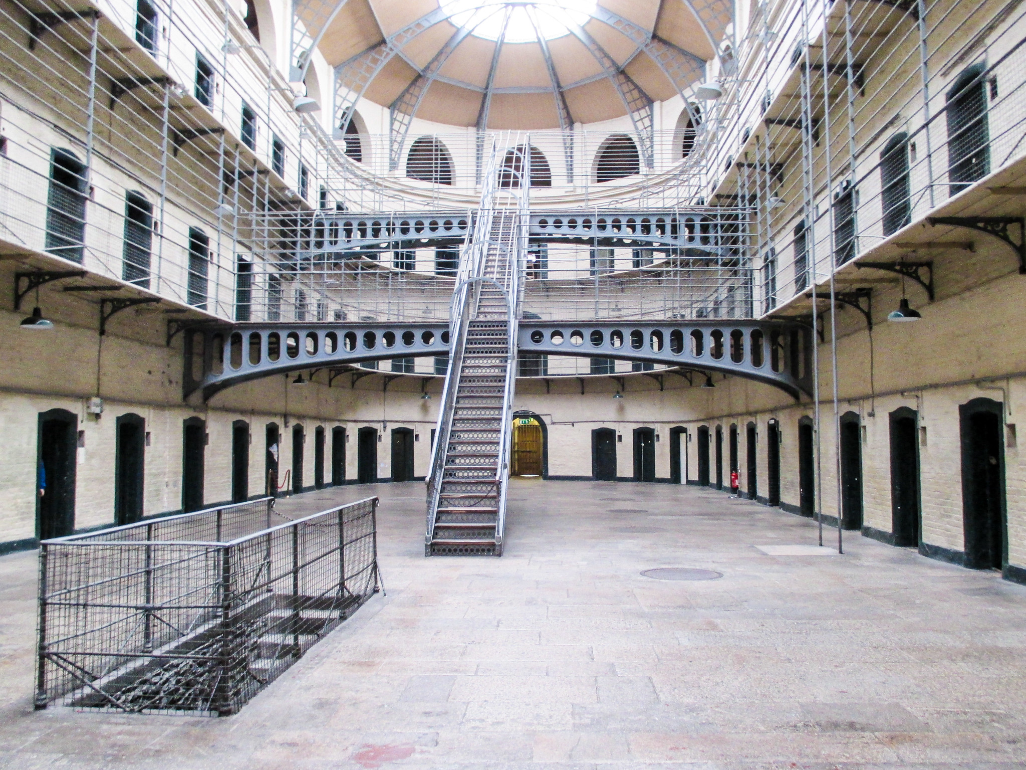 solo travel in dublin means seeing museums on your own such as the gaol