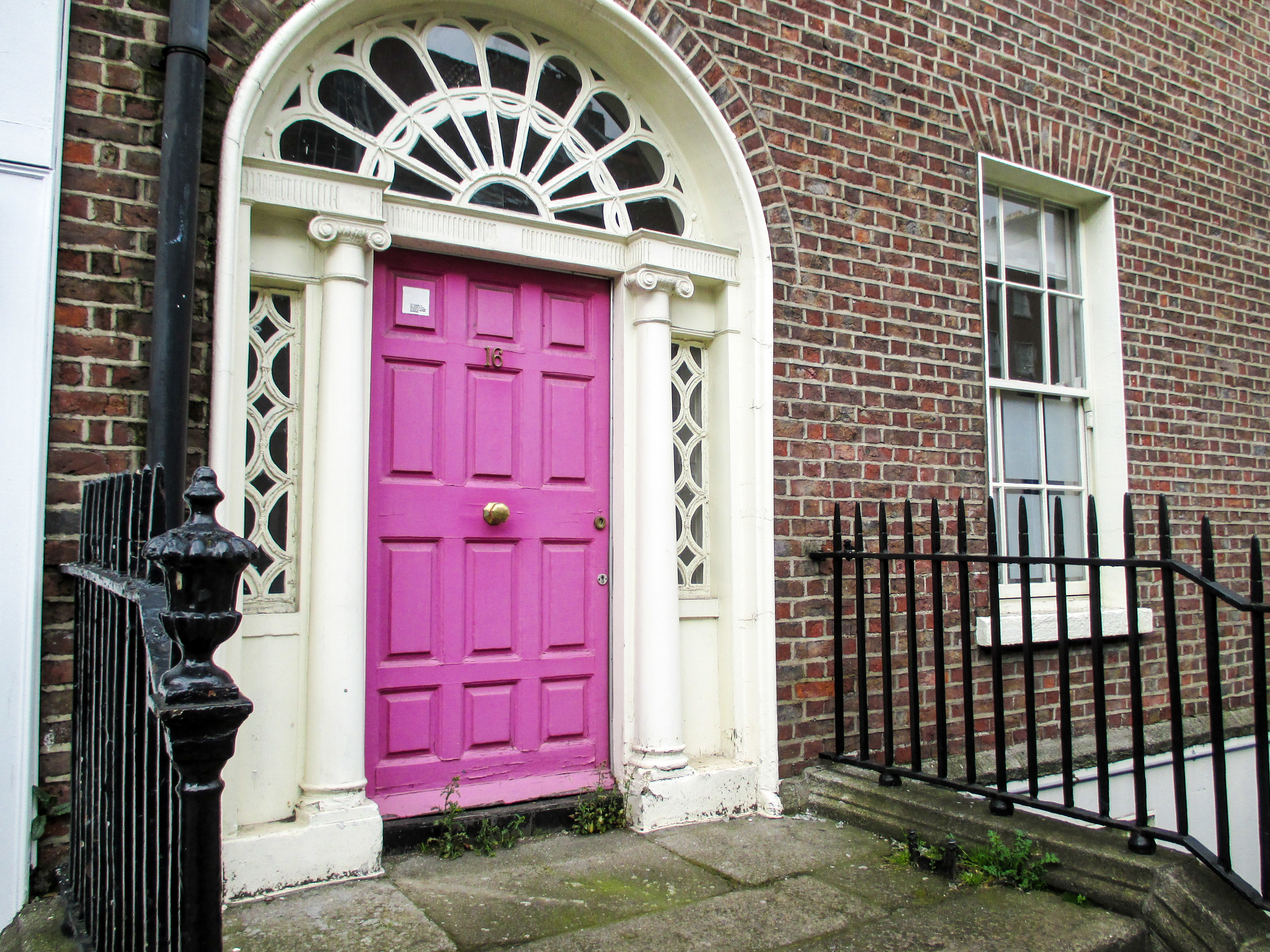 take a solo trip to ireland and see the colorful doors in dublin
