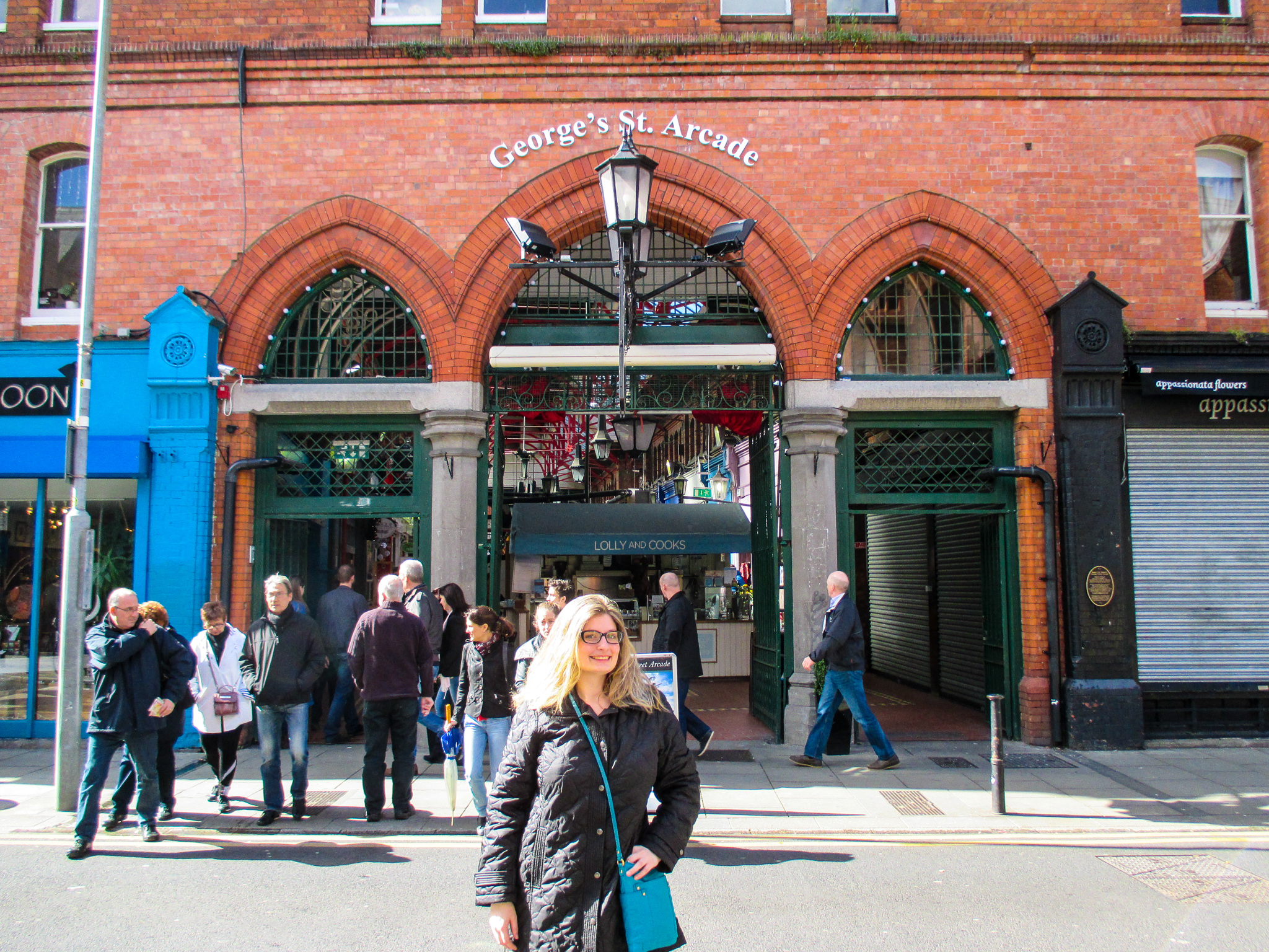 traveling to dublin alone and loving george's st arcade