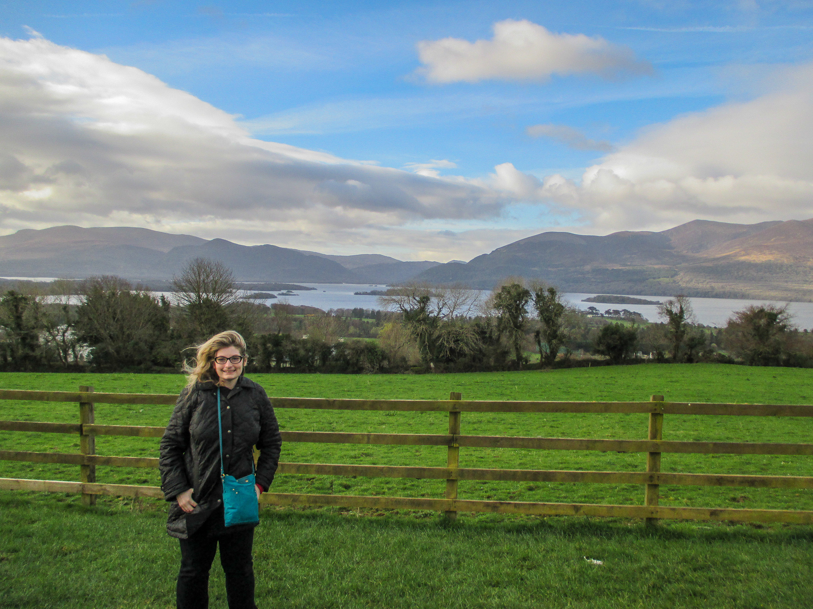 solo travel to ireland for the scenery
