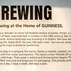 Guinness  Brewery - Brew sign - Dublin Ireland