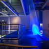Guinness Brewery - Blue waterfall and staging area - Dublin Ireland