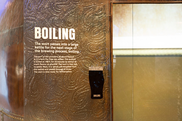 Guinness Brewery - Kettle and Boiling Sign - Dublin Ireland
