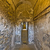Kilmainham Gaol prison cell hallway past old doorway - Dublin Ireland
