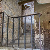 Kilmainham Gaol old staircase and railing - Dublin Ireland
