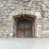 Kilmainham Gaol exterior door from inside the courtyard - Dublin Ireland