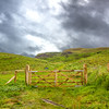 Farm gate - Ballintoy, County Antrim Northern Ireland