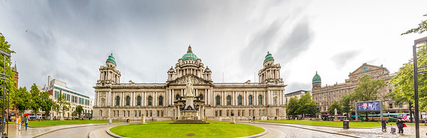 Belfast City Hall - Northern Ireland - Panorama