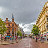 Looking down Donegall Place - Belfast Northern Ireland