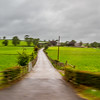 Sharper fence and Blurred driveway with small DOF - County Antrim Ireland
