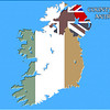 Irish map - landscape - Northern Ireland County Antrim