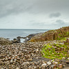 Giants Causeway basalt columns and rocks - County Antrim Northern Ireland