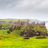 Dunluce Castle in County Antrim - Northern Ireland - 2