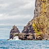 Rocky promontory in the Atlantic under the Cliffs of Moher County Clare - Ireland - 2