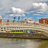 Ha'Penny bridge 2 of 3 for triptych - Dublin Ireland