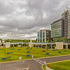 AOL Technologies Ireland buildings and garden off Chapelizod Bypass - Dublin Ireland - Panorama