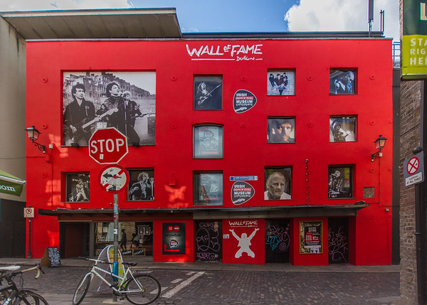 Wall of Fame - Temple Ln S - from Cecilia St - Dublin Ireland