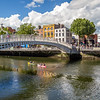 Kayakers under the Ha'Penny Bridge - Dublin Ireland - 2
